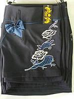 """Красивая школьная юбка с вышивкой """"Люкс"""""""