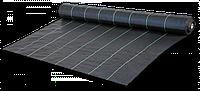 Агроткань против сорняков PP, черная UV, 90 гр/м? размер 0,6 х 100м