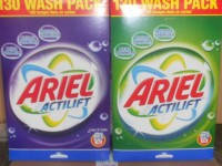 Стиральный порошок для цветного белья АРИЭЛЬ Ariel Actilift Color GIGA XXL pack 10,4кг (картонная коробка) 130