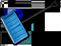 Лопата-плуг для уборки снега с алюминиевым профилем