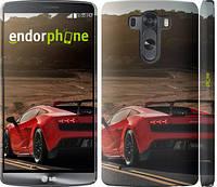 """Чехол на LG G3 D855 Lamborghini v2 """"2948m-47"""""""