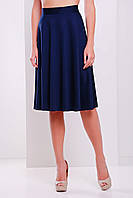 Женская юбка на лето из французского трикотажа