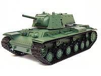 Танк р/у 1:16 Heng Long KV1 с пневмопушкой и дымом