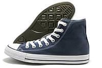 Кеды мужские Converse All Star темно-синие высокие