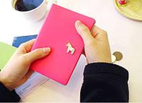 Обложка для паспорта Pony Passport Case розовый