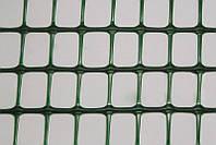 Декоративное ограждение зеленое, размер: ячейки 9х9 мм, рулона 50х1 м - Италия