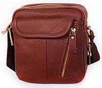 Многофункциональна мужская сумка из натуральной кожи 30114