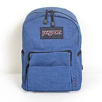Стильний молодіжний рюкзак JanSport  ( синій )