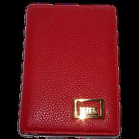 Автодокументы женские Petek (заменитель кожи), 3306-Y Красный, размер 9*13*1