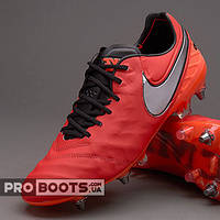 Футбольные бутсы Nike Tiempo Legend VI SG Pro Red