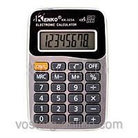 Калькулятор Kenko 323А, резиновые кнопки, металлическое покрытие, музыка. Карманный калькулятор