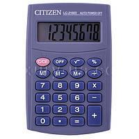 Настольные и карманные калькуляторы. Калькулятор Citizen 210. Офисная техника