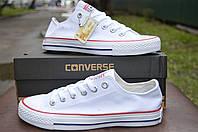 Женские белые кеды Converse all star