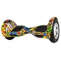 Гироборд Smart Balance Wheel U10 с пультом и чехлом в комплекте цвет Hip-Hop