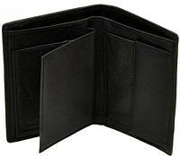 Маленькое мужское кожаное портмоне  dr.Bond M25 black, черный