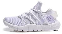 Женские кроссовки Nike Air Huarache (найк хуарачи) белые