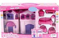 Домик для кукол с мебелью 668-11