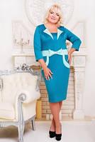 """Платье большого размера  """"Лили"""" - 50-58р"""