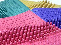 Коврик массажный резиновый от плоскостопия (26х26 см)