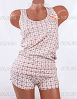 Женский комплект майка+шорты Турция