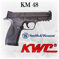 Smith&Wesson  копия настоящего, пневматика KWC KM48, фото 1