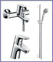 Набор смесителей для ванны Hansgrohe Focus