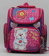 Яркий рюкзак для девочки. Ортопедический школьный рюкзак. Высокое качество. Интернет магазин. Код: КДН345