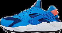 Мужские кроссовки Nike Air Huarache (найк хуарачи) голубые