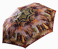 Женский зонт Три Слона САТИН ( полный автомат, ЛЕГКИЙ ) арт.363-5