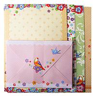 Заготовка для открыток с цветными конвертами ''Flight'' 10.5x14.8см
