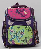 Красивый школьный рюкзак для девочки. Рюкзак с ортопедической спинкой. Отличное качество. Купить. Код: КДН351