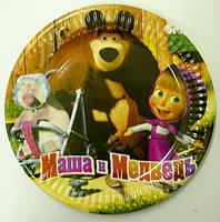 Тарелочка Маша и медведь 18 см