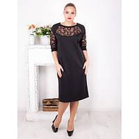 Элегантное коктельное платье Глора черное