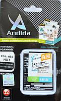 Аккумулятор для HTC a510e, HD3, HD7, G13, BD29100 Andida 1600mah