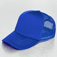 Синяя кепка тракер