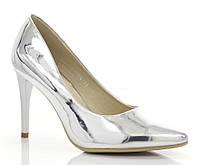 Женские туфли Магдалина Серебро