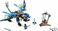 Конструктор Нинзяго Дракон Джея Bela 10446 (аналог Lego 70602)