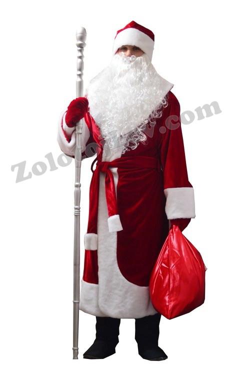 Борода Деда Мороза 25см купить в Киеве Цена отзывы