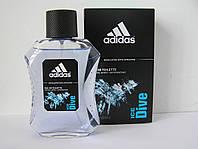 Туалетная вода мужская Adidas Ice Dive (Адидас айс дайв) 100 мл. (Новый дизайн)