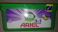 Капсулы для стирки Ариэль для цветных вещей  Ariel Pods Color  30 шт