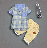 Комплект рубашка и шорты, разм 92