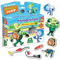 Развивающая игра Магнитный Фикси- Мир Помогатор Vladi Toys VT 3102-01