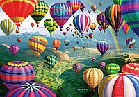 """Картина по номерам «Идейка» (КН1056) художественный творческий набор """"Воздушные шары"""", 50x40 см"""