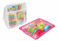 Игрушечный кухонный набор с посудкой