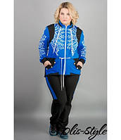 Яркий спортивный костюм Марго (электрик), фото 1