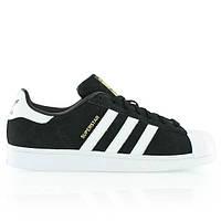 Женские кроссовки Adidas Superstar (Адидас Суперстар) черные