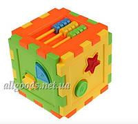 Куб для развития логики у малыша