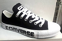 Кеды CONVERSE мужские черные, белые Co0008