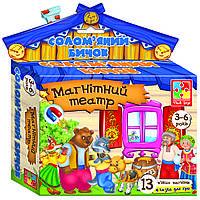 Развивающая игра на магнитах Магнитный театр Теремок Vladi Toys VT 3206-08