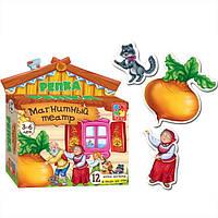 Развивающая игра на магнитах Магнитный театр Репка Vladi Toys VT 3206-07